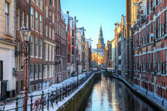 Oudezijdskolk Amsterdam Royalty Free Stock Photography