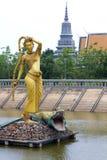 Oudong, бывшяя столица Камбоджи стоковое изображение
