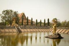 Oudong, het Boeddhistische Centrum van Vipassana Dhura Royalty-vrije Stock Afbeelding
