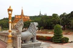 Oudong moutain pagodowy pobliski mout Zdjęcie Royalty Free