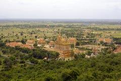 Oudong, oude hoofdstad van Kambodja Royalty-vrije Stock Foto