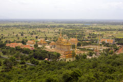 Oudong, stara stolica Cambodia Zdjęcie Royalty Free