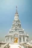 Oudong, stupa that contains relics of Buddha, full tower. South view of the stupa Stock Photo