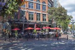 Oudoors restauracja Vancouver Zdjęcia Royalty Free