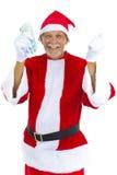 Oudste als Kerstman royalty-vrije stock afbeelding
