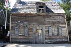 Oudste school in Amerika royalty-vrije stock fotografie