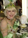 Oudste Showgirl van de wereld royalty-vrije stock foto
