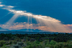 Oudtshoorn le Cap-Occidental Afrique du Sud photos libres de droits