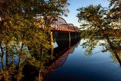 Ouellette-Brücke Lizenzfreies Stockbild