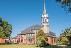 Ouest de Bloemfontein d'église reformé par Néerlandais photos stock