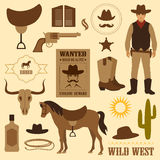 Ouest sauvage illustration libre de droits