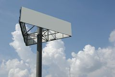 Ouidoor billboard. Outdoor billboard add your text Royalty Free Stock Image