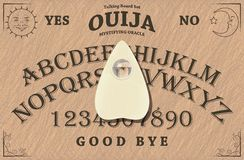 Ouija董事会 免版税库存图片