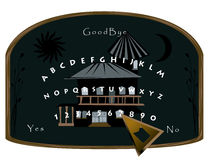 Ouija Board Royalty Free Stock Photo