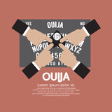 Ouija Board Playing Royalty Free Stock Image