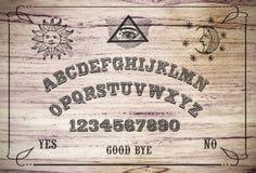 Ouija bräde Fotografering för Bildbyråer