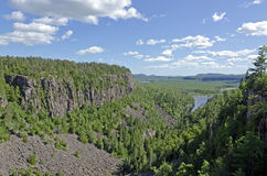 Ouimet Canyon Royalty Free Stock Photo