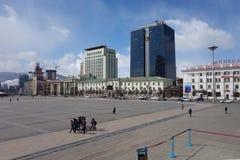 Oulan-Bator ou Ulaanbataar, Mongolie Photo stock