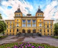 Oulu urzędu miasta Oulun kaupungintalo Oulu, Finlandia Fotografia Stock