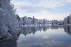 oulujoki Arkivbild