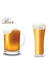 öl rånar två Royaltyfri Illustrationer