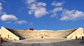 öppen theatre för luft Arkivfoto