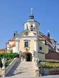 Österrike kyrkligt eisenstadtberg Royaltyfria Foton