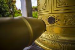 Ounalom pagoda is a wat located on Sisowath Quay in Phnom Penh, Cambodia, near the Royal Palace of Cambodia. royalty free stock photography