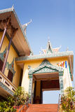 OunaLom Temple contains an eyebrow hair of Buddha. Cambodia Stock Image