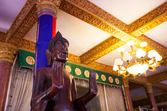OunaLom Temple contains an eyebrow hair of Buddha. Cambodia Stock Images