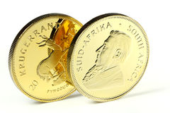 1 ounce gold bullion coin Stock Photography