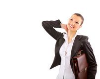 Oung businesswoman Stock Image