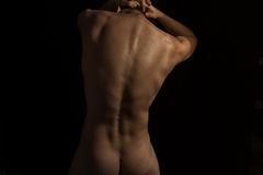 Нoung naked man Royalty Free Stock Photos