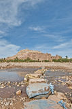 Ounila river near Ait Ben Haddou, Morocco Stock Photography