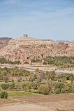 Ounila river near Ait Ben Haddou, Morocco Royalty Free Stock Photography