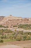 Ounilarivier dichtbij Ait Ben Haddou, Marokko Royalty-vrije Stock Fotografie