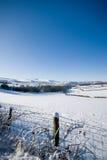ountains błękitny niebo Welsh Zdjęcie Royalty Free
