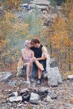 ?ouple dans l'amour Image libre de droits