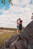 ?ouple dans l'amour Photo stock