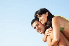 Ouple fooling around Stock Photography