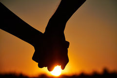 ?ouple nell'amore Immagine Stock Libera da Diritti
