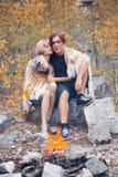 ?ouple no amor Fotos de Stock Royalty Free