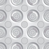 Oupphörlig rastersilver Arkivbild