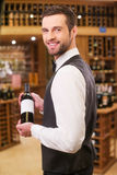 This is our best wine. Stock Images