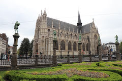 Our Blessed Lady of the Sablon Church Stock Photos