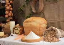 Our daily bread Royalty Free Stock Photography