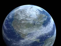 Our Earth. Our planet in space; Earth view Royalty Free Stock Images