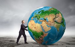 Our Earth planet Royalty Free Stock Photo