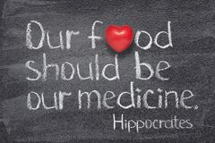Free Our Food Hippocrates Stock Photos - 179419753