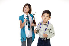 Our future professionals. stock image